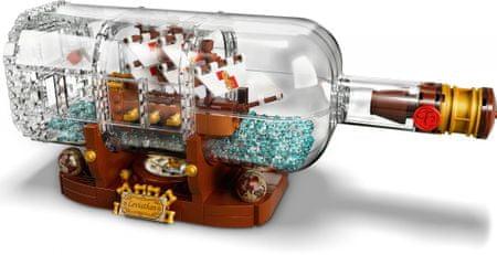 LEGO Ideas 92177 Brod u boci