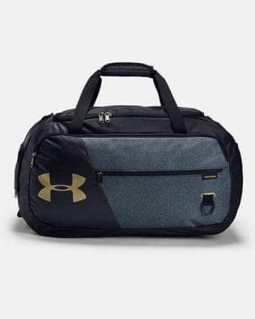 Under Armour Undeniable 4.0 sportska torba, M, crno-zlatna