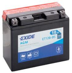 Exide Motobatéria BIKE Maintenance Free 10Ah, 12V, YT12B-BS