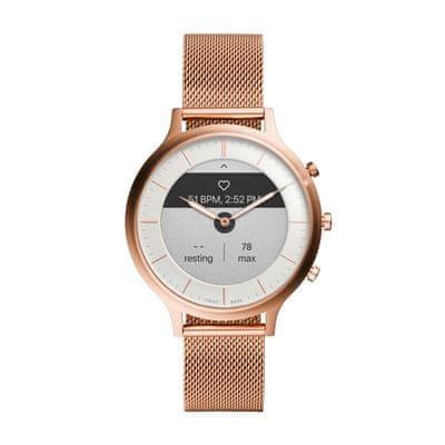 Chytré hodinky Fossil FTW7008, vodotěsné, měření tepu, tepová frekvence, kroky, spálené kalorie, vzdálenosti