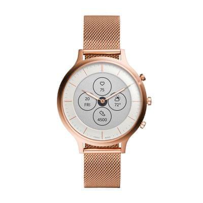 Hybridní chytré hodinky Fossil FTW7008, elegantní design, designové, ručičkový ciferník