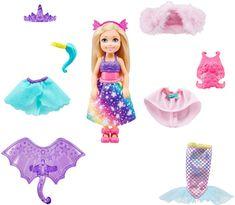 Mattel Barbie Chelsea z oblačili Igralni komplet