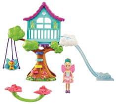 Mattel Barbie Chelsea ház a fa tetején Játékkészlet