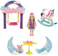 Mattel Barbie Chelsea hintalóval Játékkészlet