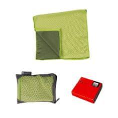 Schwarzwolf LANAO outdoorový ručník zelený 30x100 cm zelená