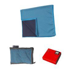 Schwarzwolf LANAO outdoorový ručník modrý 30x100 cm modrá
