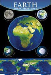 mapcards.net 3D Mini portrét - Zem
