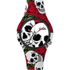 Doodle Skull Mood Roses and Skulls DOSK001