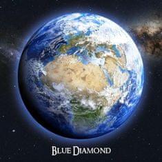 mapcards.net 3D didaktická pomôcka (veľký štvorec) - Blue Diamond (The Earth, La Tierra, Zem)