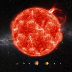 mapcards.net 3D didaktická pomôcka (veľký štvorec) - Sun Scale (Solar System)