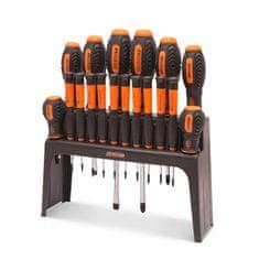 Handy 18 delni komplet izvijačev z namiznim ali stenskim stojalom