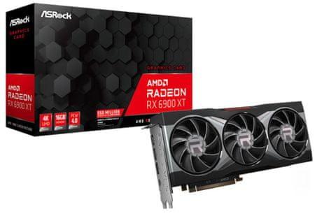ASRock Radeon RX 6900 XT grafična kartica, 16 GB GDDR6