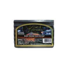 Knossos Řecké černé olivové mýdlo s bentonitovou hlínou 100g