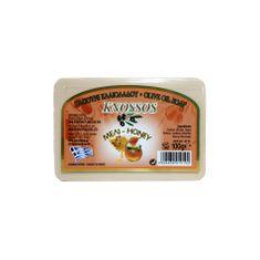 Knossos Řecké olivové mýdlo s vůní medu 100g
