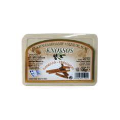 Knossos Řecké olivové mýdlo s vůní skořice 100g