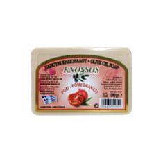 Knossos Řecké olivové mýdlo s vůní granátového jablka 100gr