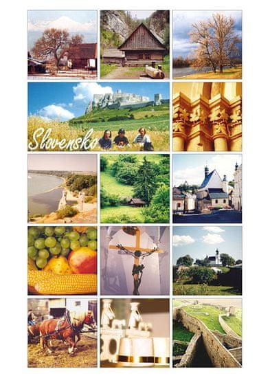 tvorme pohľadnica Slovensko I