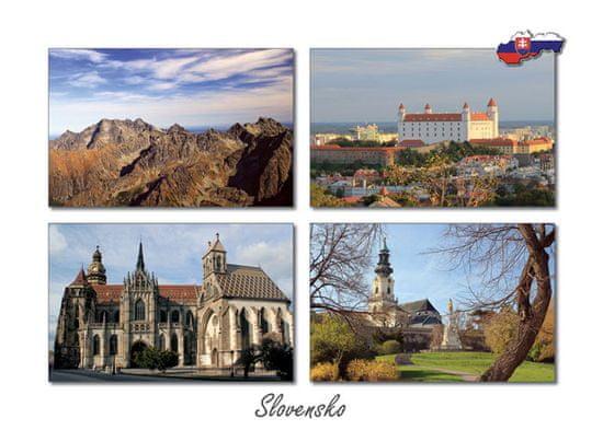 tvorme pohľadnica Slovensko IV