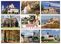 tvorme pohľadnica Slovensko - pamiatky UNESCO 02