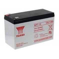 Yuasa Akumulátor núdzové napájanie (UPS),čistiace stroje, 12V 7Ah - YUASA originál