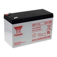 Yuasa Olovený akumulátor CSB GP1270 F2 (NP7-12L Vds) - YUASA originál