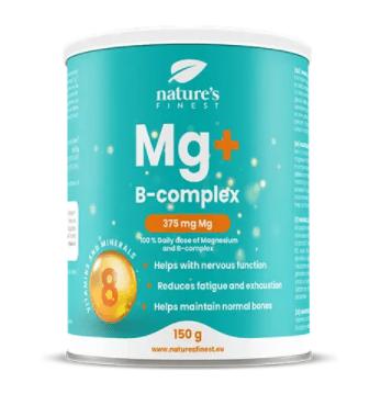 Nature's finest Magnezij & B-complex Drink Mix napitek, 150 g