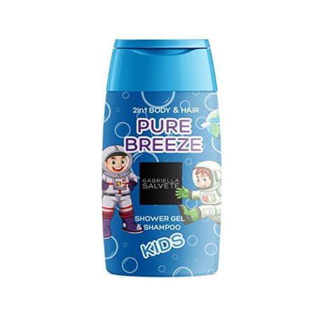 Gabriella Salvete Pure Breeze Astronaut 2 v 1 gel za prhanje za otroke (Shower Gel 2in1 Body & Hair ) gel za prhanje 2