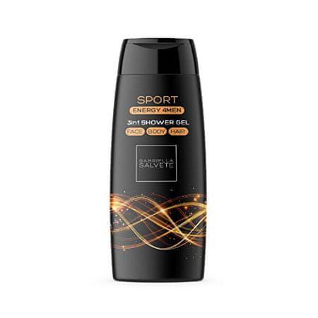 Gabriella Salvete Tusfürdő férfiaknak 3 az 1-benSport Energy 4Men(3in1 Shower Gel) 250 ml