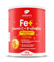 Nature's finest Iron & Vitamin C & B-complex Drink Mix napitak, 150 g