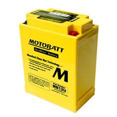 MOTOBATT Motobatéria MB12U, 15Ah, 12V