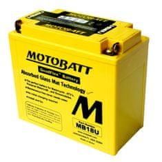 MOTOBATT Motobatéria MB18U, 22,5Ah, 12V