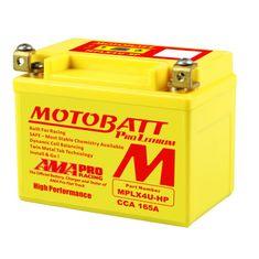 MOTOBATT Motobatéria MPLX4U-HP, 2,2Ah, 12V