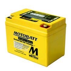 MOTOBATT Motobatéria MBTX4U, 4,7Ah, 12V