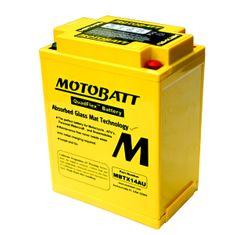 MOTOBATT Motobatéria MBTX14AU, 16,5Ah, 12V