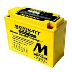 MOTOBATT Motobatéria MBTX24U, 25Ah, 12V