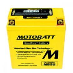 MOTOBATT Motobatéria MB5U, 7Ah, 12V