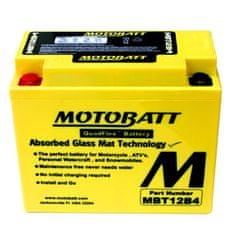 MOTOBATT Motobatéria MBT12B4, 11Ah, 12V