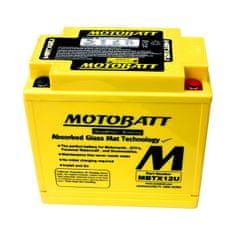 MOTOBATT Motobatéria MBTX12U, 14Ah, 12V