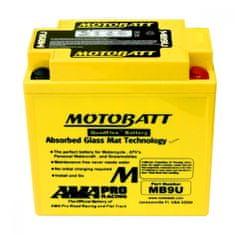 MOTOBATT Motobatéria MB9U, 11Ah, 12V
