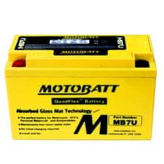 MOTOBATT Motobatéria MB7U, 6,5Ah, 12V