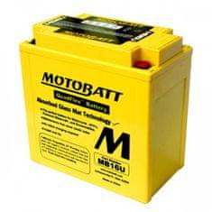 MOTOBATT Motobatéria MB16U, 20Ah, 12V