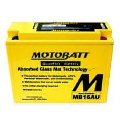 MOTOBATT Motobatéria MB16AU, 20,5Ah, 12V