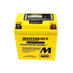 MOTOBATT Motobatéria MB3U, 3,8Ah, 12V