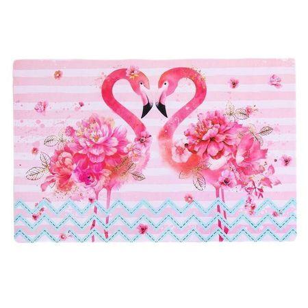 """Kraftika Serwetka na stół """"flamingo"""", 43 × 28 cm"""