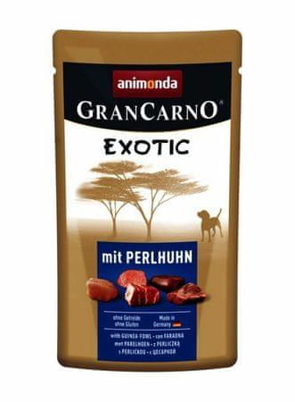Kraftika Animonda pocket grancarno egzotikus-a gyöngy 125g kutyák