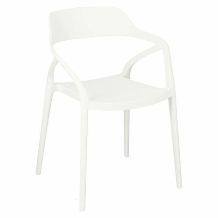 shumee Krzesło Salo białe