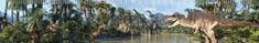 mapcards.net 3D pravítko Dinosauri