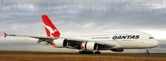 mapcards.net 3D pravítko Qantas DEEP
