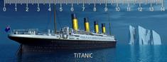 mapcards.net 3D pravítko Titanic DEEP