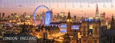 mapcards.net 3D pravítko London (Londýn) DEEP